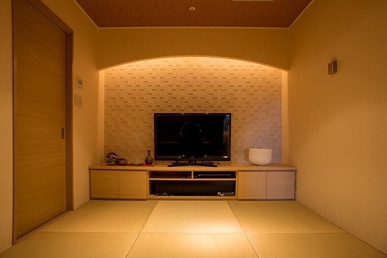 心と体をリラックスさせてもらうために「瞑想室」を設けています